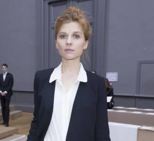 Clémence Poésy : décontraction incarnée au défilé Chloé