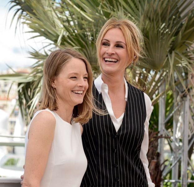 Jodie Foster et Julia Roberts, deux farouches militantes pour la cause des femmes à Cannes 2016.