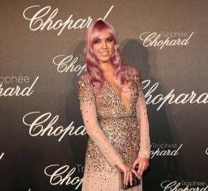 Amber Le Bon lors de la cérémonie du Tropée Chopard organisée le 12 mai 2016 à Cannes.