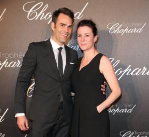 Chris Norton et Garance Doré lors de la cérémonie du Tropée Chopard organisée le 12 mai 2016 à Cannes.