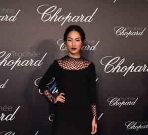 La blogueuse star Nicole Warne lors de la cérémonie du Trophée Chopard organisé le 12 mai 2016 à Cannes.