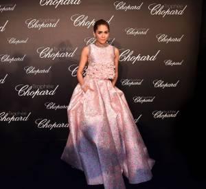 Araya A. Hargatelors de la cérémonie du Trophée Chopard organisé le 12 mai 2016 à Cannes.