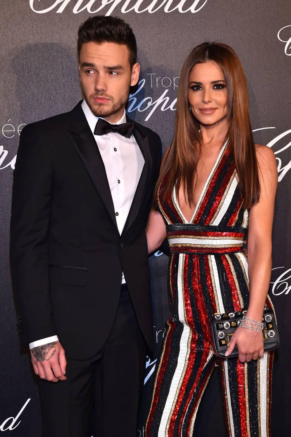 Liam Payne et Cheryl Cole lors de la cérémonie du Trophée Chopard organisé le 12 mai 2016 à Cannes.