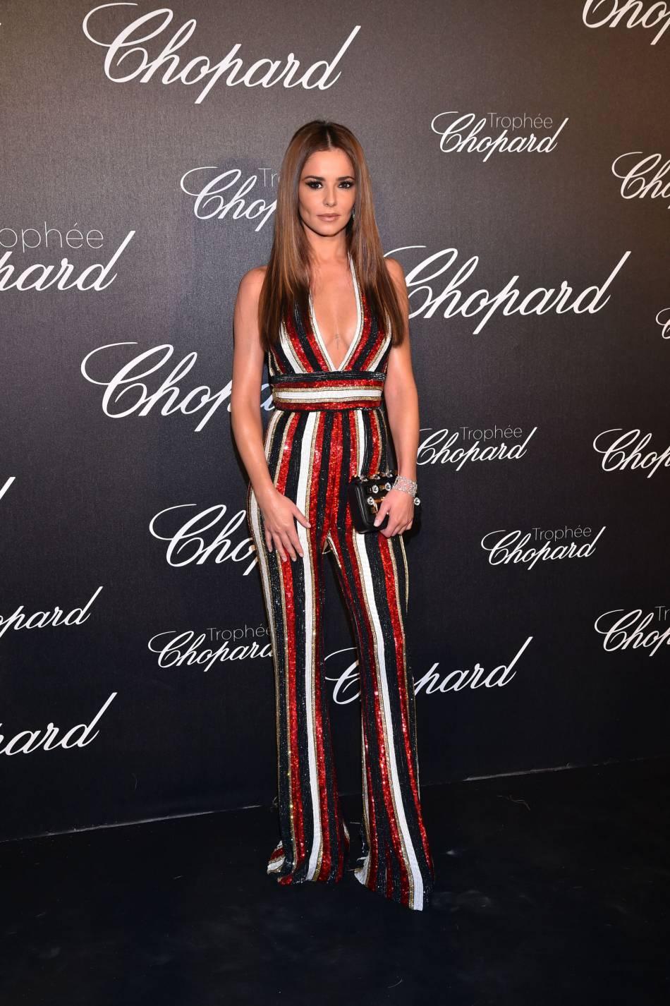 Cheryl Cole lors de la cérémonie du Trophée Chopard organisé le 12 mai 2016 à Cannes.