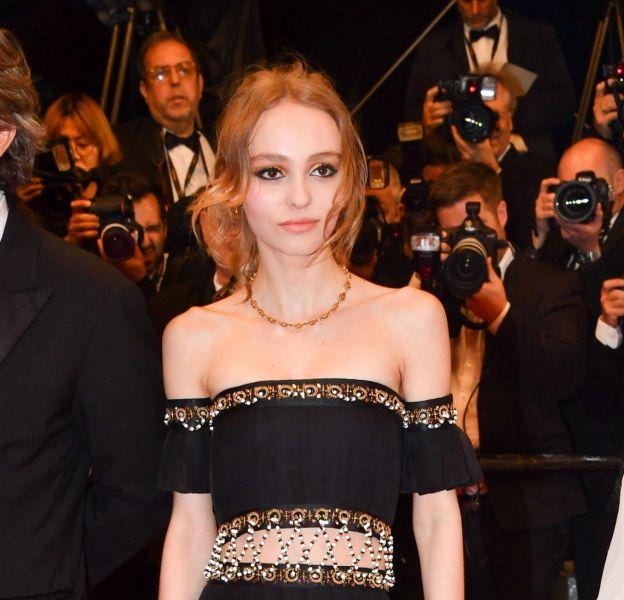 L'actrice Lily-Rose Depp a éclipsé tout le monde hier soir, à Cannes.