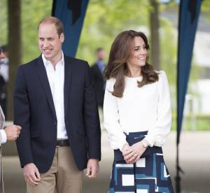 Kate Middleton : en jupe jacquard, elle boxe pour la bonne cause