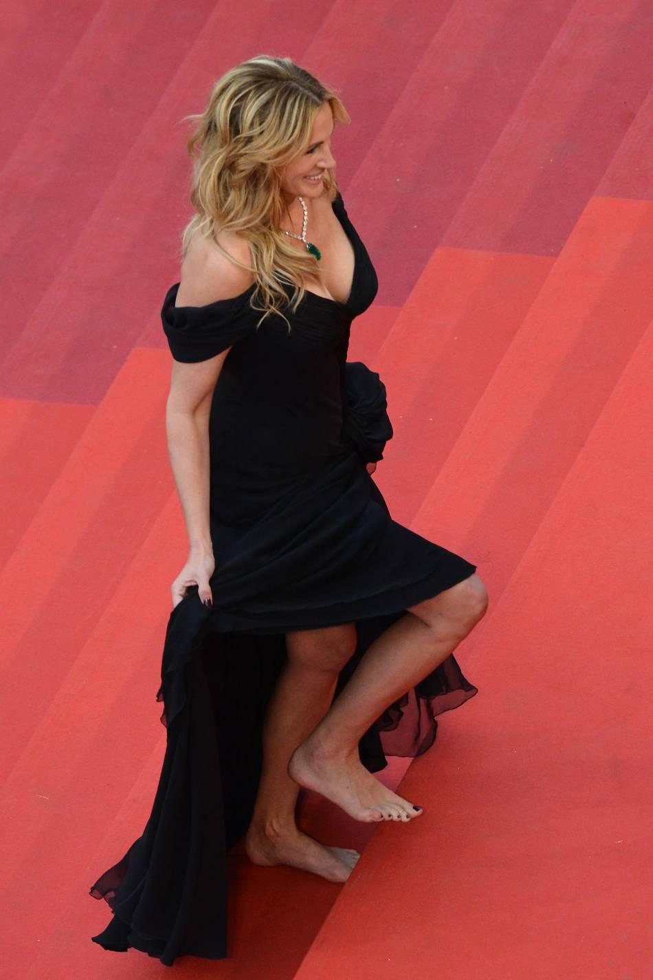 Julia Roberts affole Cannes.