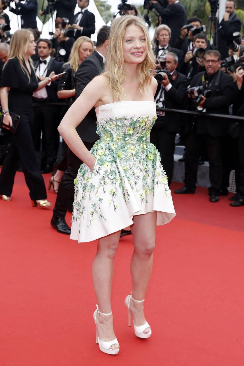 Mélanie Thierry toujours plus court.
