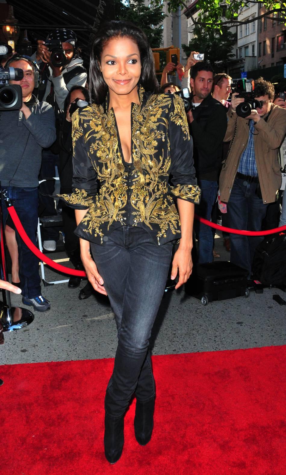 Janet Jackson rajeunit de manière époustouflante en 2012.