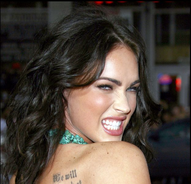 Megan Fox, tigresse des tapis rouges.