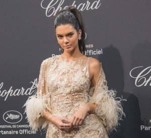 Kendall Jenner à la soirée Chopard le 16 mai 2016 à Cannes.