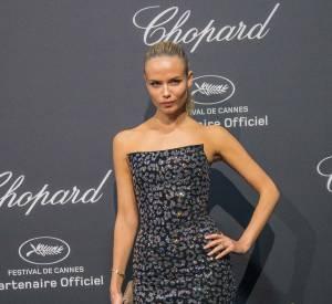 Natasha Poly à la soirée Chopard le 16 mai 2016 à Cannes.