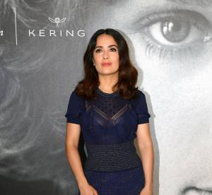 Salma Hayek : tout en transparence à Cannes, elle enflamme la croisette !