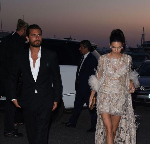 Scott Disick et Kendall Jenner à Cannes le 16 mai 2016.