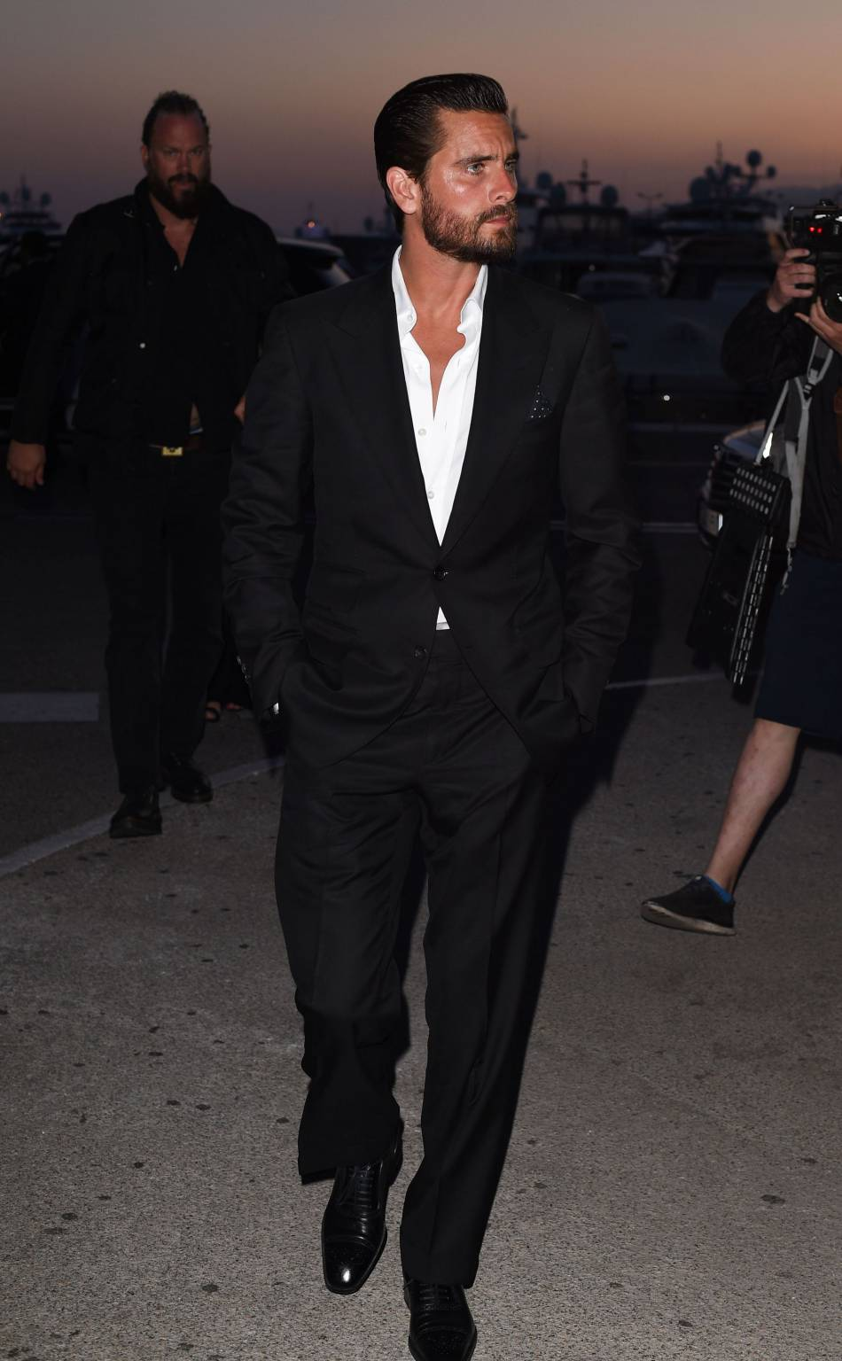 Scott Disick à Cannes le 16 mai 2016.