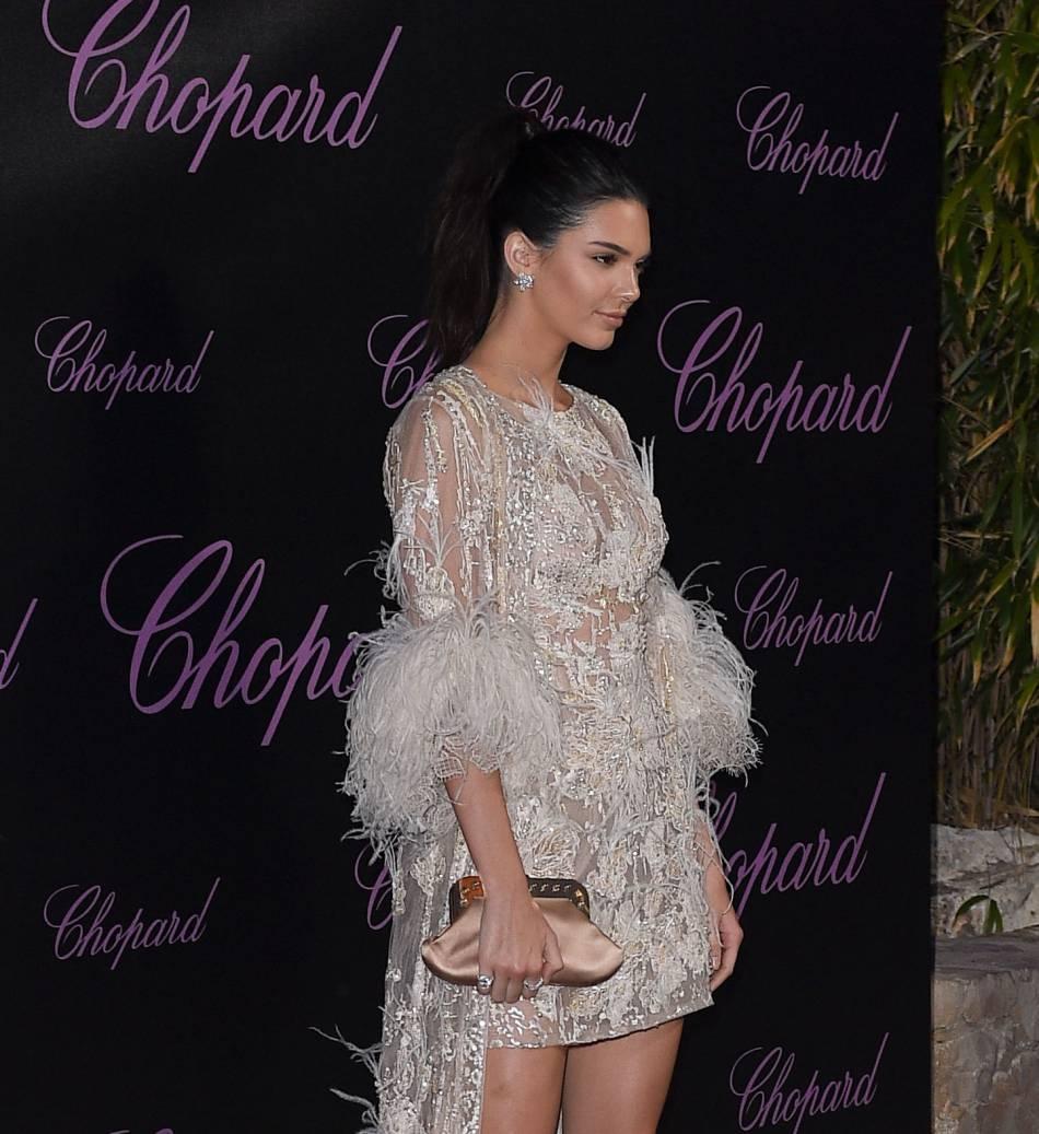 Kendall Jenner à la soirée Chopard.