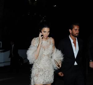 Scott Disick et Kendall Jenner à Cannes.
