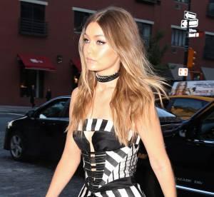 Gigi Hadid : totalement canon en bustier pour Jimmy Fallon