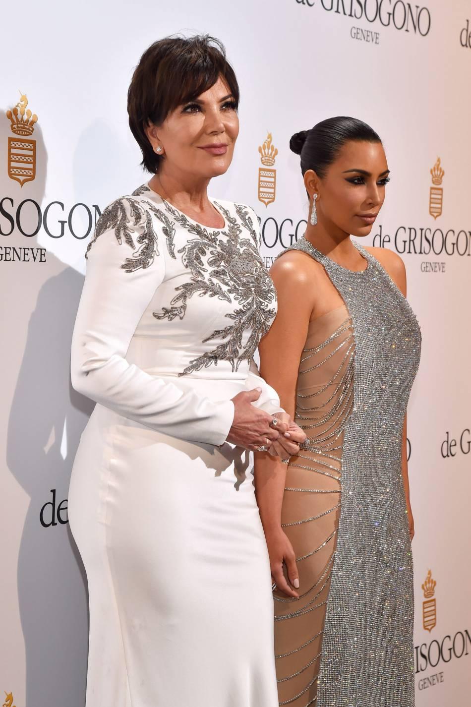 Les célébrités les plus attendues étaient Kris Jenner et Kim Kardashian.