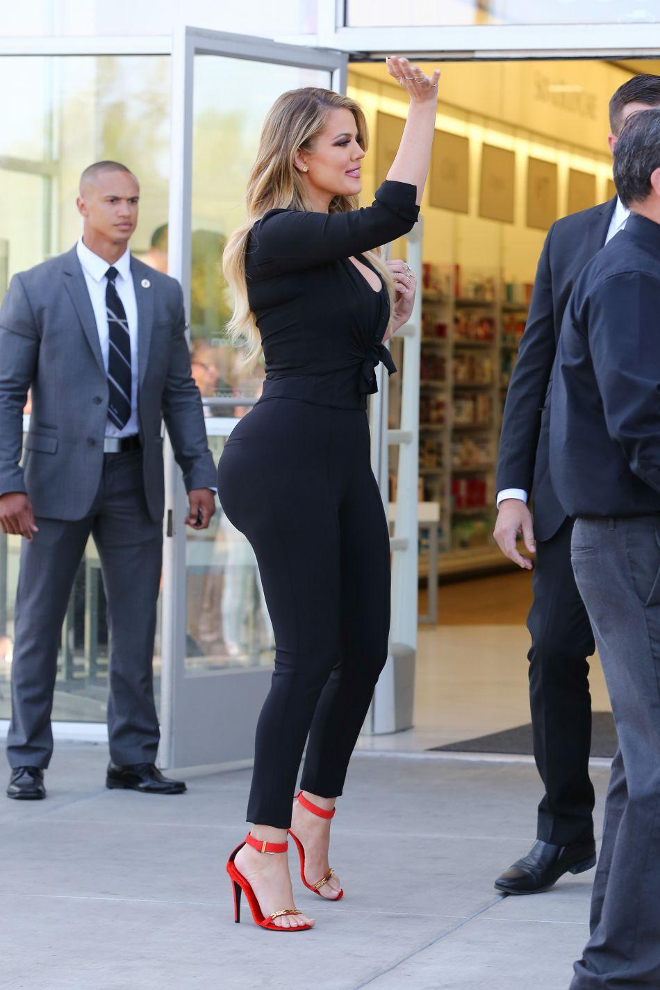 Depuis sa perte de poids, Khloe Kardashian rayonne.