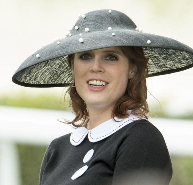 """La princesse Eugenie d'York lors du cinquième jour des courses hippiques """"Royal Ascot"""", le 18 juin 2016."""
