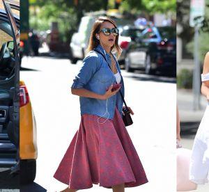 Jessica Alba : ses 10 plus beaux street styles