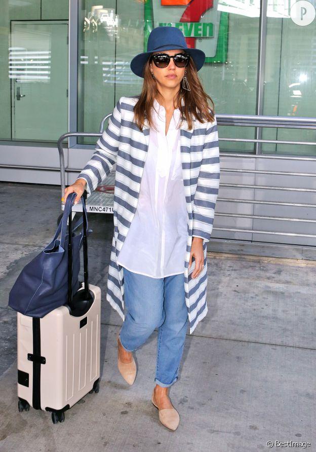 Eté comme hiver, Jessica Alba est toujours au top du style.