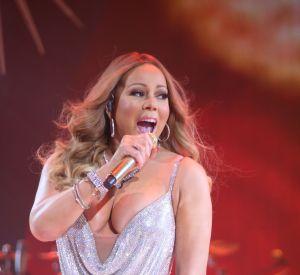 La chanteuse a été invitée cette année pour lancer les illuminations de Noël à l'Empire State Building.