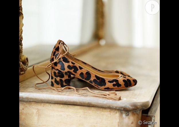Chaussures, Sezane, 150€.
