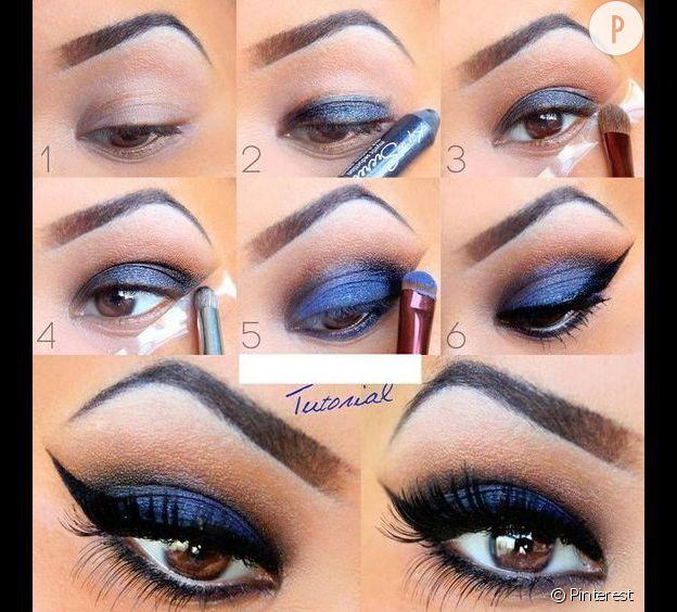 Maquillage De Soir 227 169 E Yeux Bleus Fermons Les Abattoirs Mtl