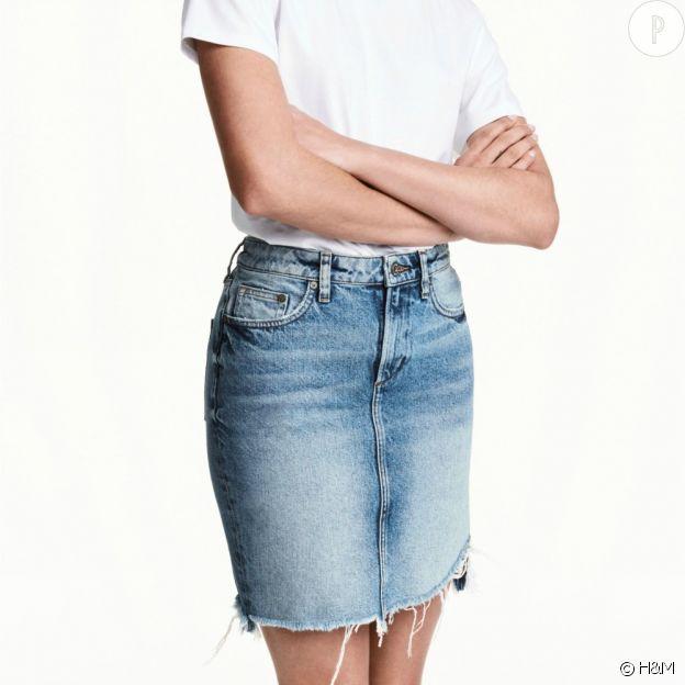 Jupe en jean, H&M, 34,99€