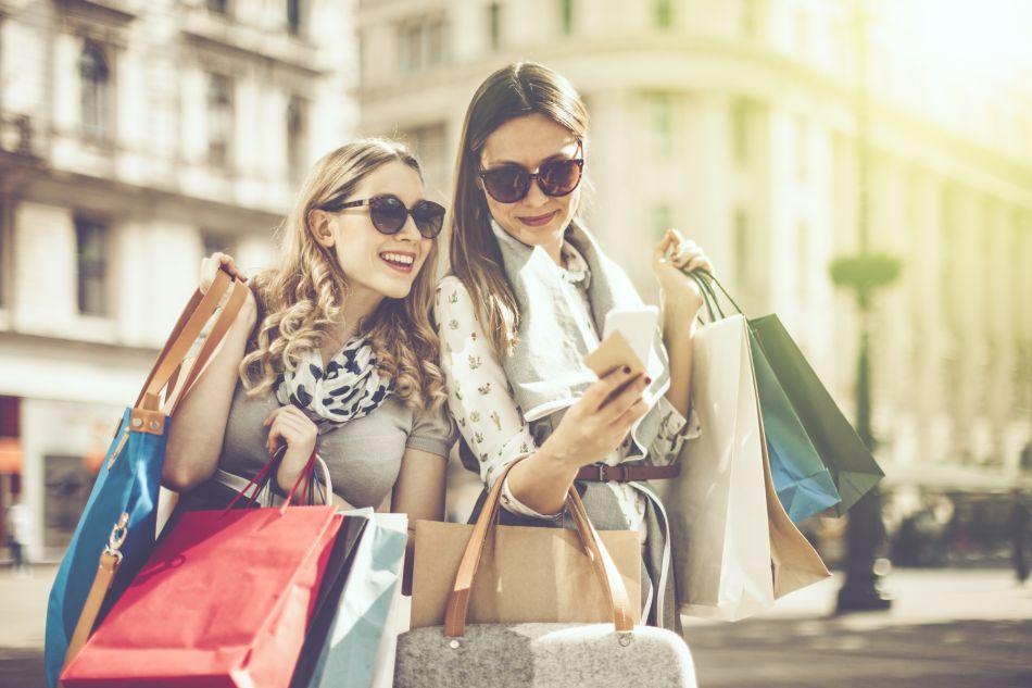 Les achats compulsifs ont souvent lieu lorsqu'on est entre copines.