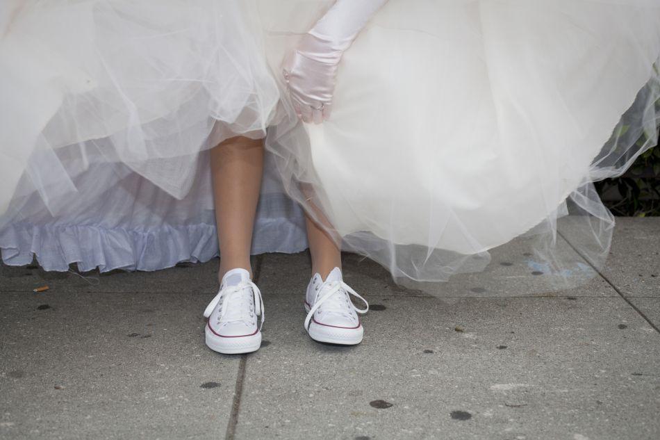 Favori Mariage : les paires de sneakers à porter avec sa robe blanche TR63