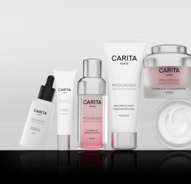 La nouvelle gamme de soins par Carita.