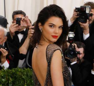 Kendall Jenner ultra sexy dans une robe transparente au gala du Met