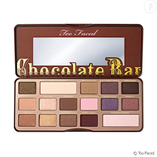 Too Faced, Chocolate Bar, 47€.
