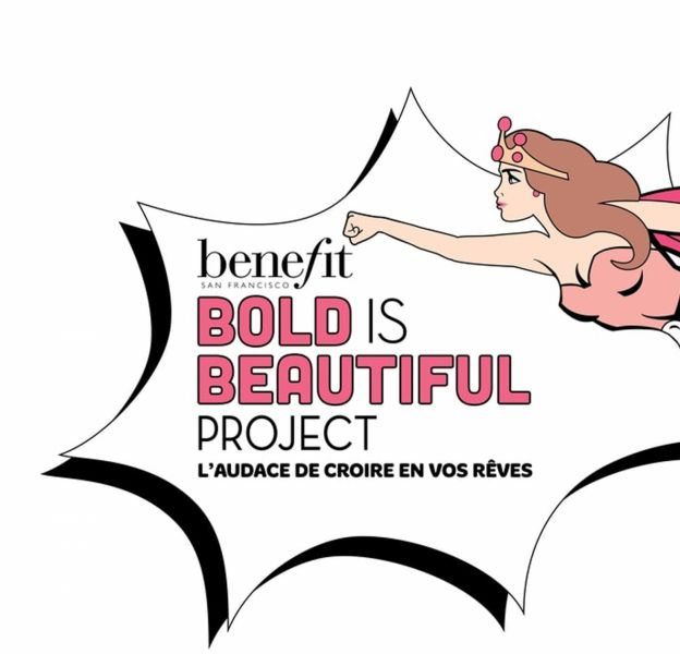 Benefit a lancé sa campagne Bold is Beautiful jusqu'au 31 mai.