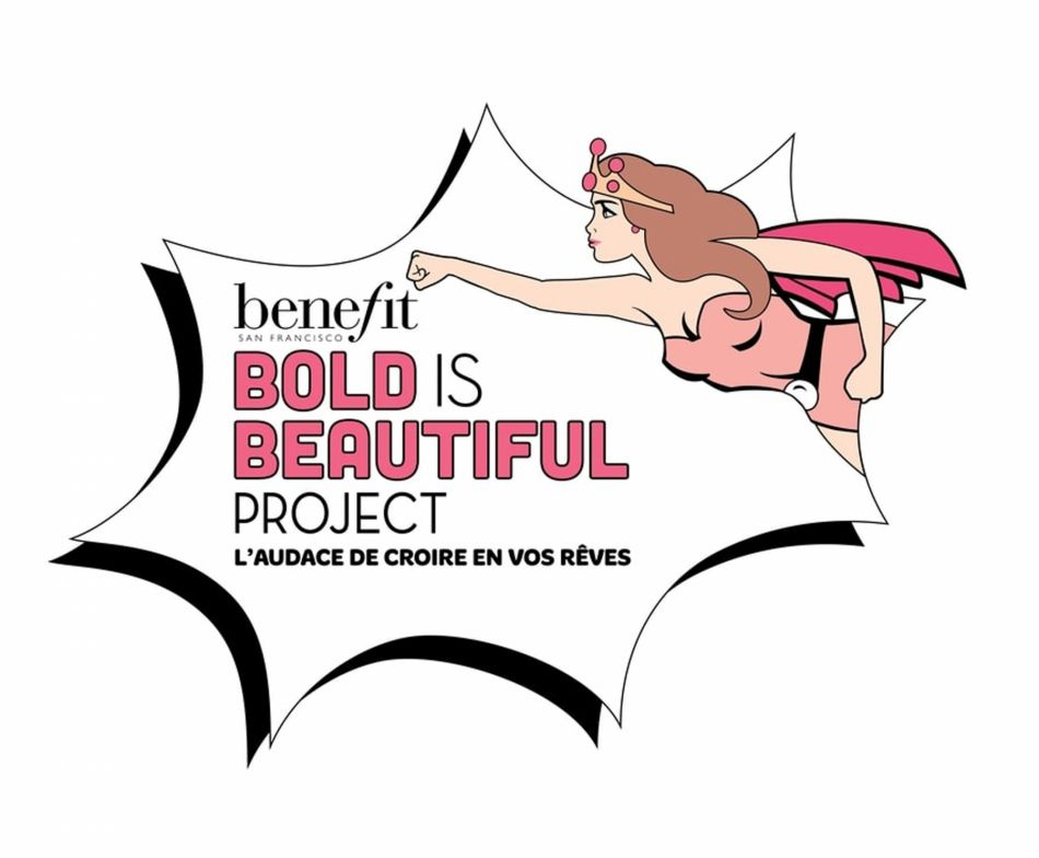 Benefit a lancé sa campagne Bold is Beautiful jusqu'au 31 mai.