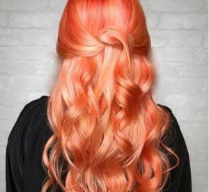Couleur cheveux orange que faire
