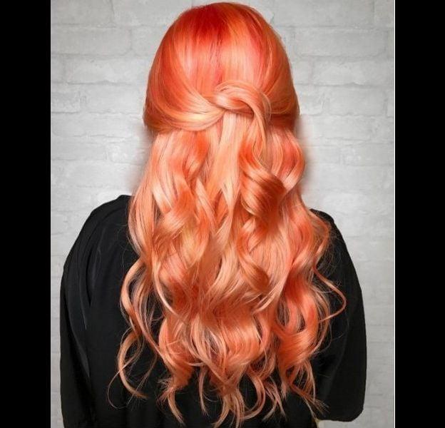 """Le """"Tangerine Hair"""", la coloration qui fait fureur sur Instagram."""