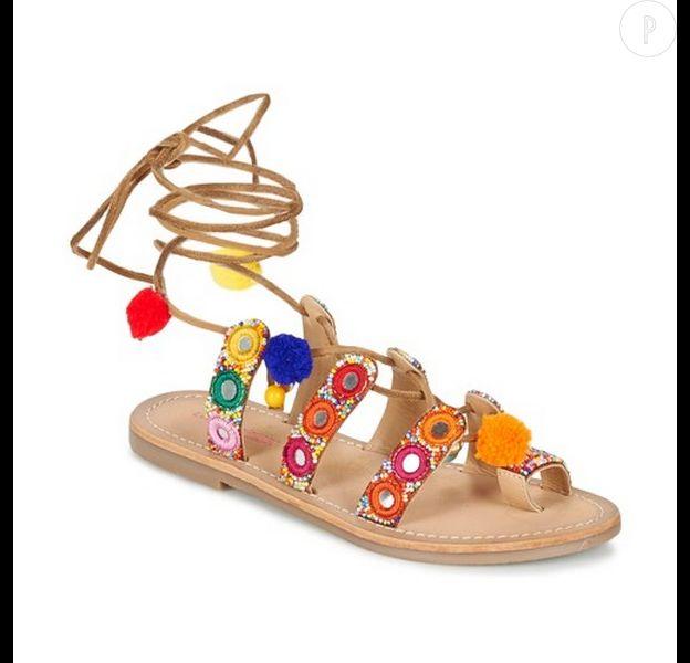 Sandales pompon comment les dompter cet t - Sandales a pompons ...
