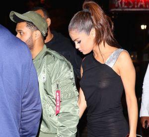 The Weeknd et Selena Gomez à New York le 6 juin 2017.