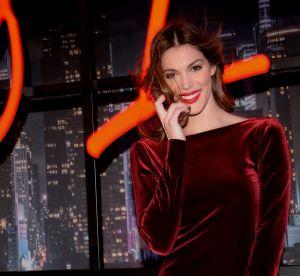 Iris Mittenaere : plus sexy que jamais dans une robe en velours dos nu