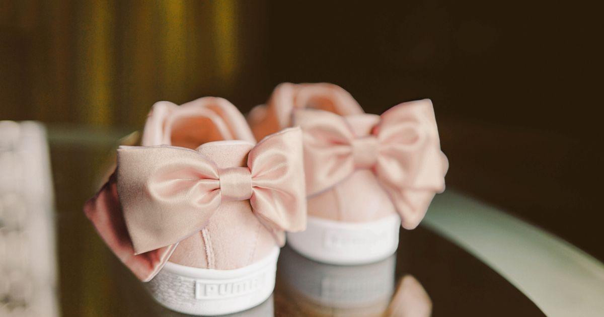 chaussures puma noeud