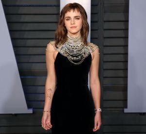 Emma Watson affiche un tatouage engagé lors des Oscars