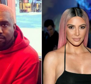 Kanye West copie Kim Kardashian et adopte les cheveux roses