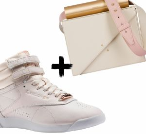 Sneakers + sac : les bons duos du printemps !