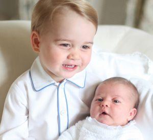 Le 3ème royal baby est né : les looks les plus mignons de George et Charlotte