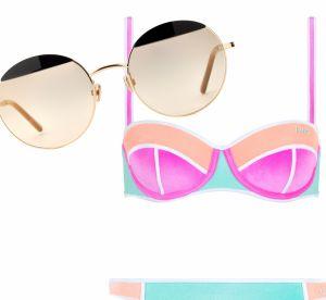 #Beachgoals : maillots de bain + lunettes de soleil, le plein d'allure