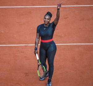 Serena Williams et sa combi intégrale font le buzz sur le court de Roland-Garros